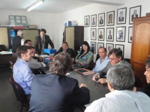 Reunión con el Ejecutivo